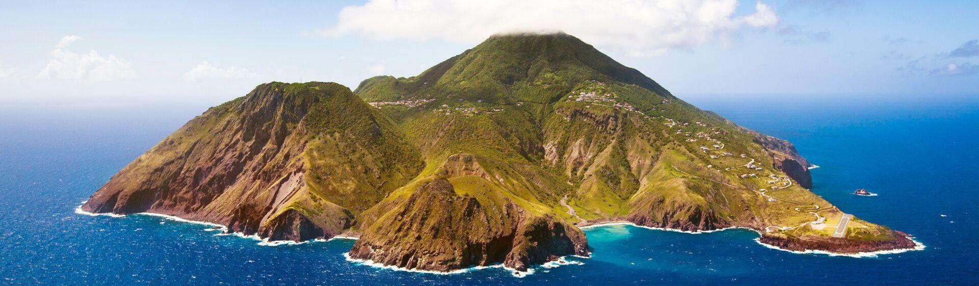 Urlaub auf Saba